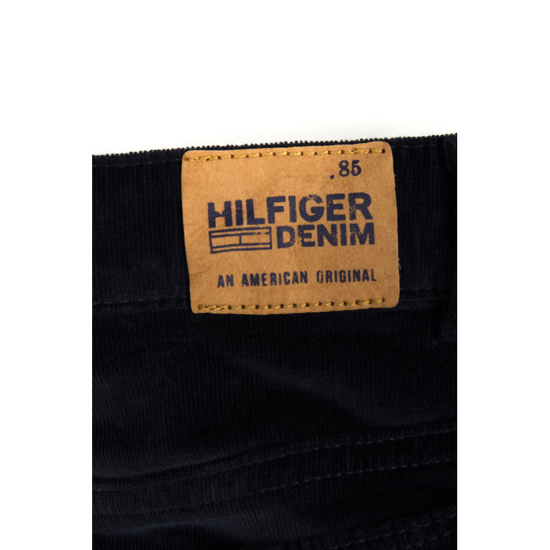 Ribcord Skirt Tommy Hilfiger navy blue