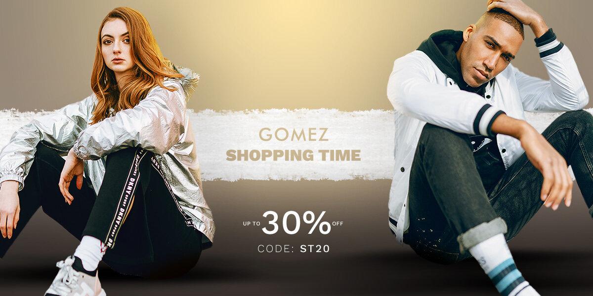 GOMEZ SHOPPING TIME!
