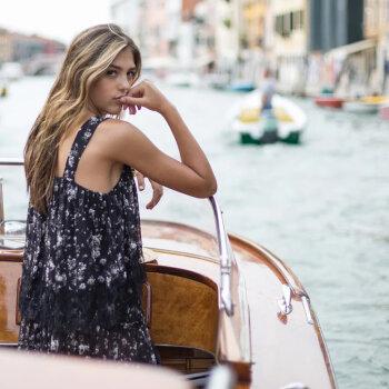 Twinset on Italian holidays