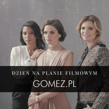 KAMERA - AKCJA! Gomez na planie filmowym!