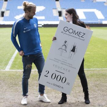 Gomez po raz kolejny na murawie Lecha Poznań