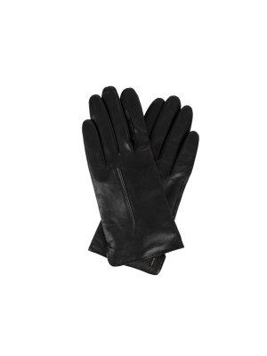 Boss Skórzane rękawiczki Gyviza Touch Tec