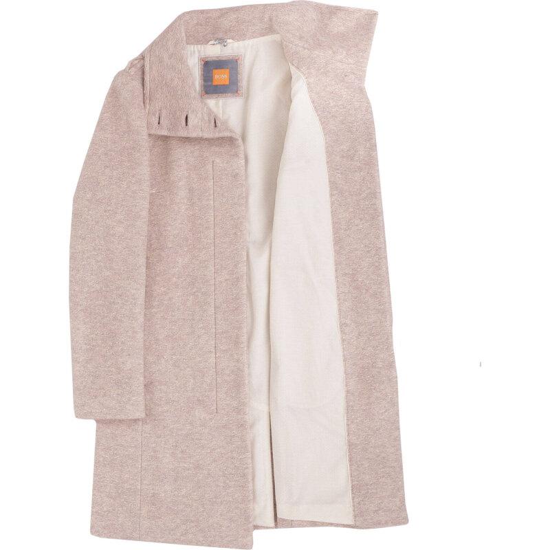 Płaszcz Okirana4 Boss Orange pudrowy róż