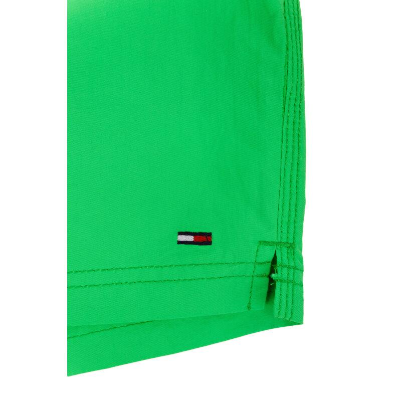 Szorty kąpielowe Solid Slim Hilfiger Denim zielony