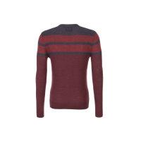 Sweter Armani Jeans bordowy
