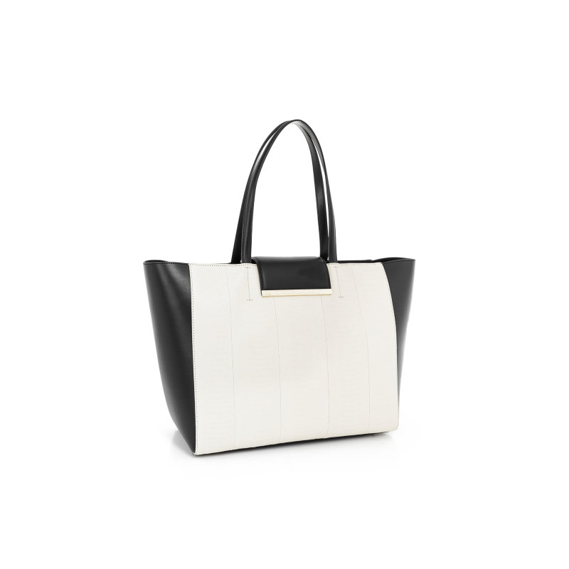 Reptilia shopper bag Cavalli Class beige