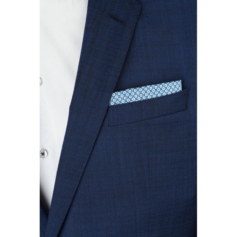 Poszetka Boss niebieski