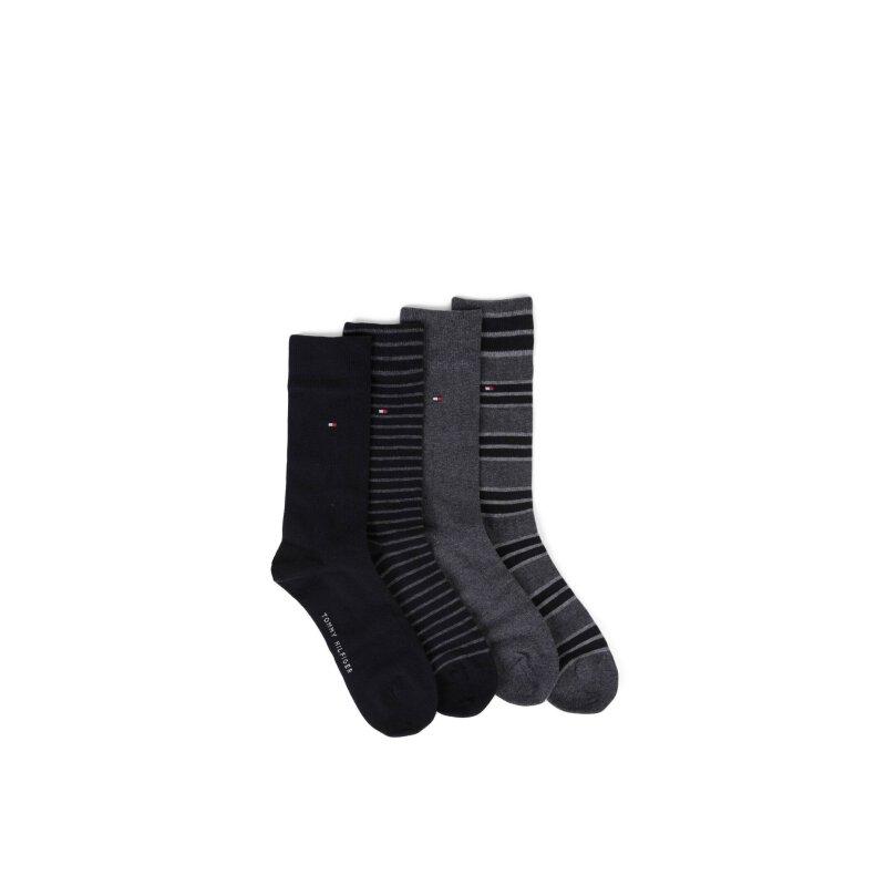4 Pack Socks Tommy Hilfiger black