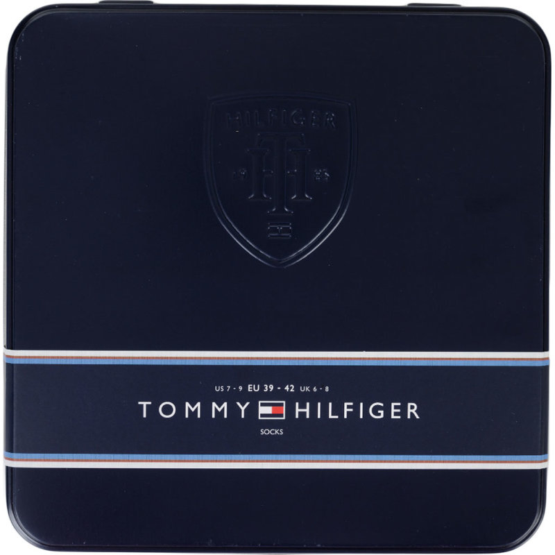 Skarpety 4 Pack Tommy Hilfiger czarny