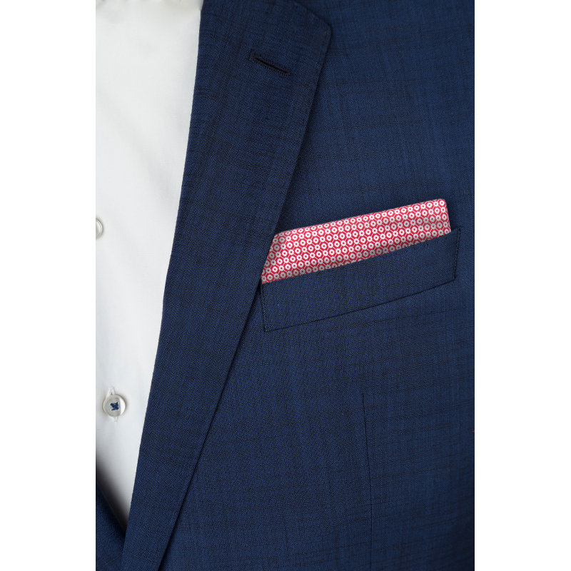 Pocket square Boss red