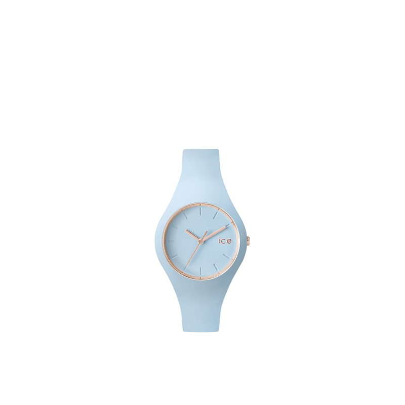 Ice Glam Pastel - Lotus watch ICE-WATCH baby blue