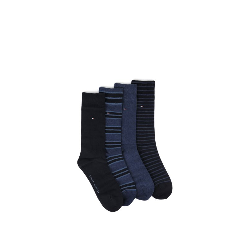 4 Pack Socks Tommy Hilfiger navy blue