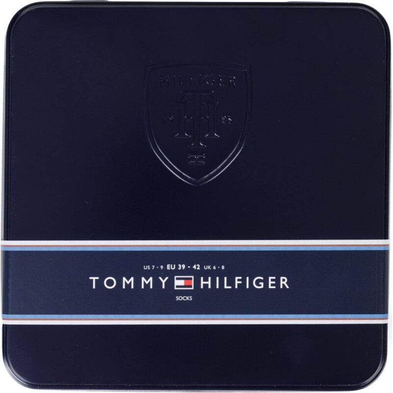 Skarpety 4 Pack Tommy Hilfiger granatowy