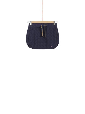 Tommy Hilfiger Spódnica Cable Quilted