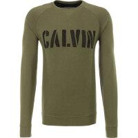 Bluza Dusty Calvin Klein Jeans oliwkowy