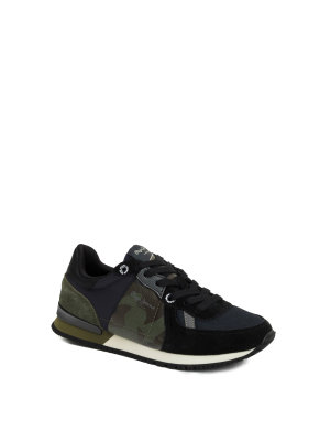 Pepe Jeans London Sneakersy Sydney Camu