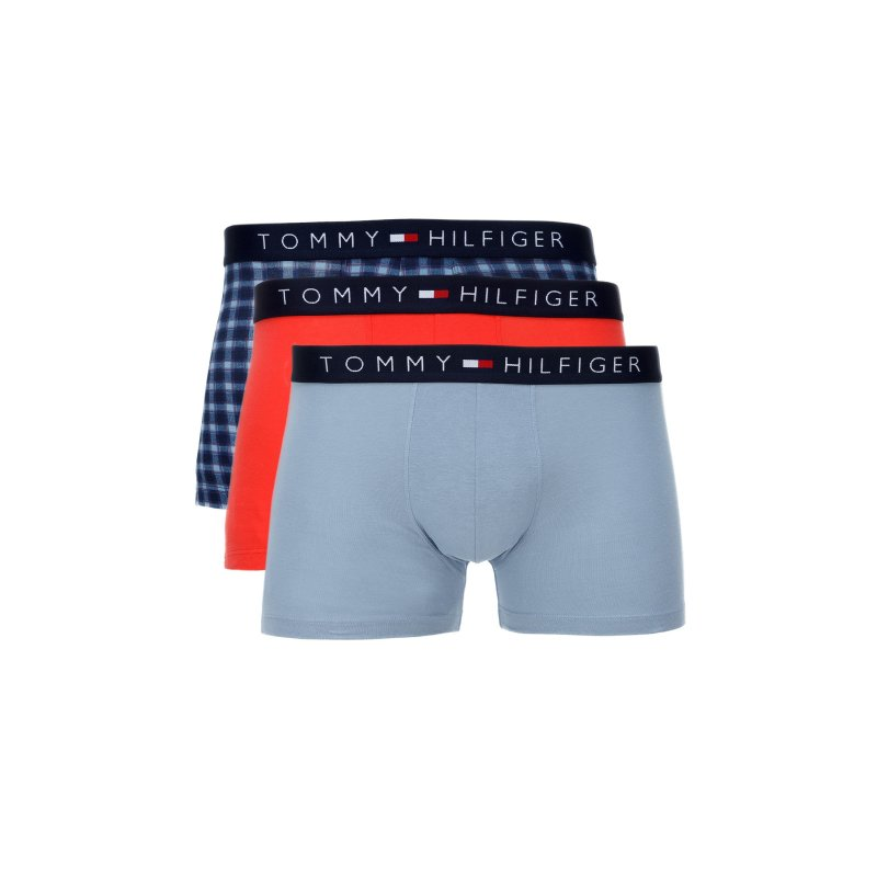 Bokserki Icon 3-pack Tommy Hilfiger niebieski