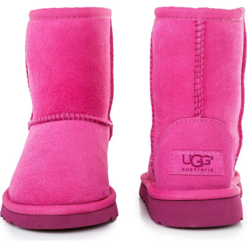 Śniegowce Classic UGG różowy