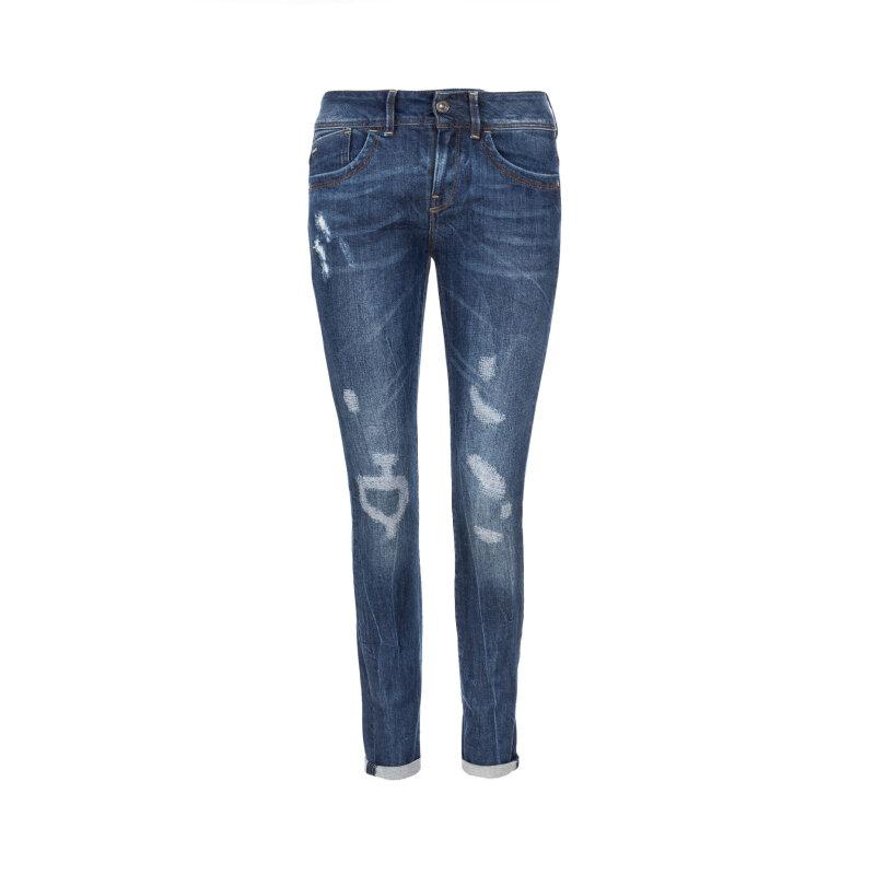 Lynn Skinny WMN Jeans G-Star Raw navy blue