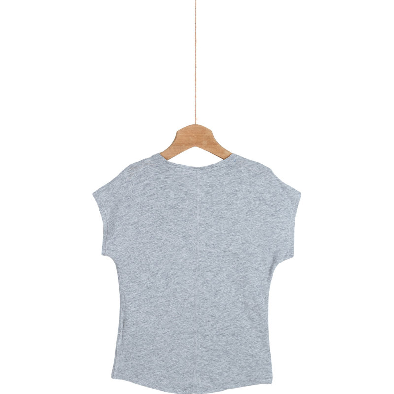 T-shirt Adelaide Tommy Hilfiger szary