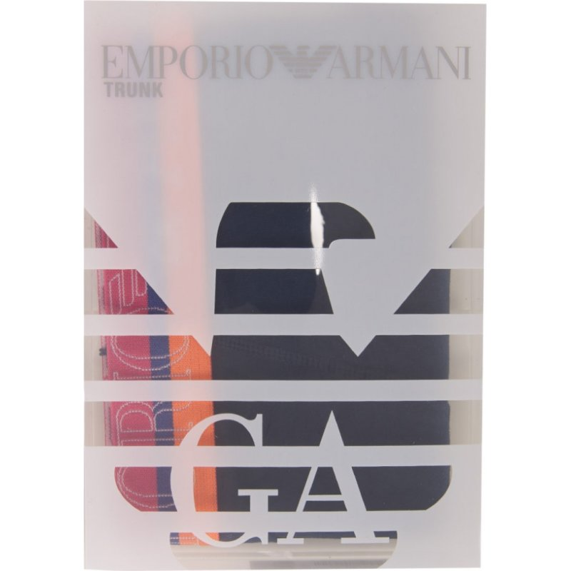 Bokserki Emporio Armani granatowy