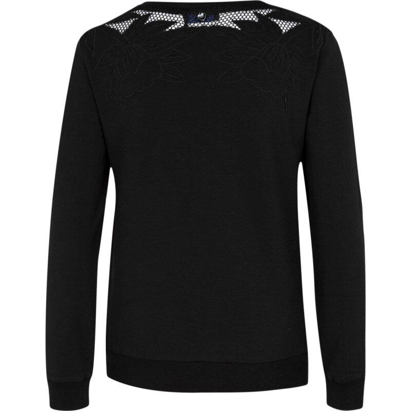 Sweatshirt Twin-Set Jeans black