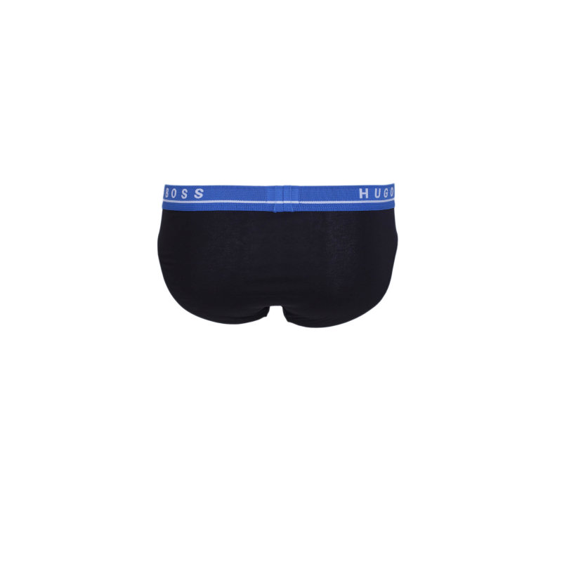 3P FN Solid 3 Pack Briefs Boss black