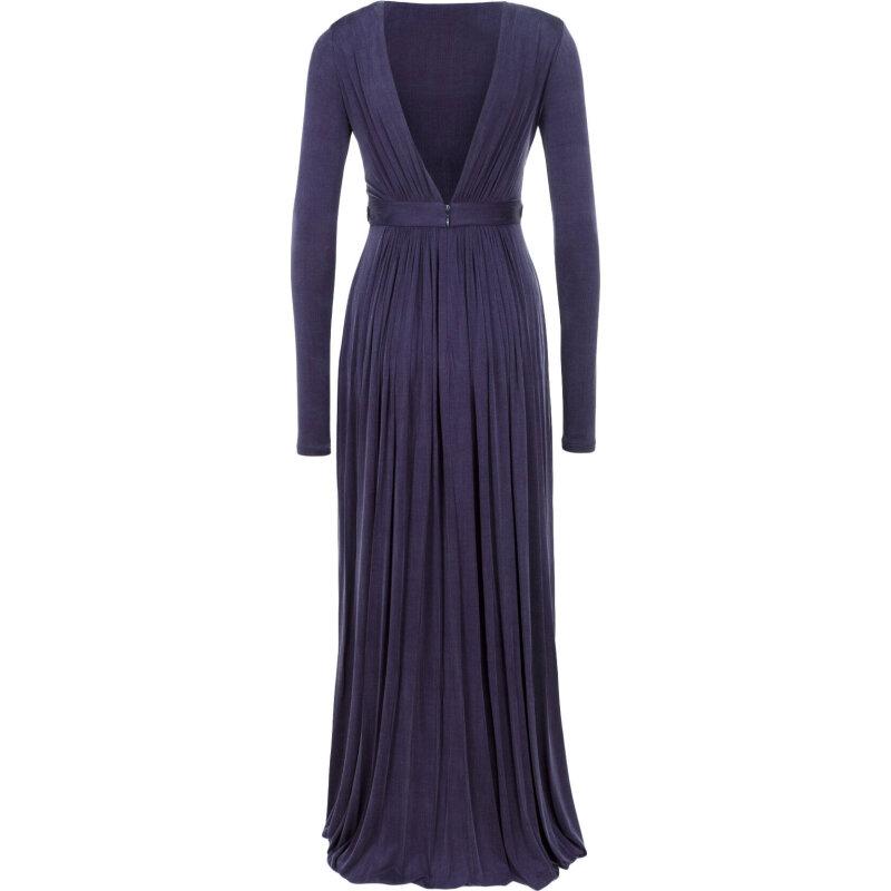 Sukienka Red Carpet Elisabetta Franchi fioletowy