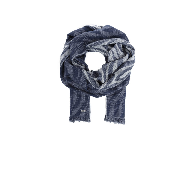 Nawavy scarf Boss Orange navy blue