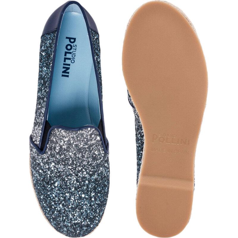 Espadrilles Pollini blue