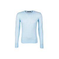 Sweter Lagerfeld błękitny