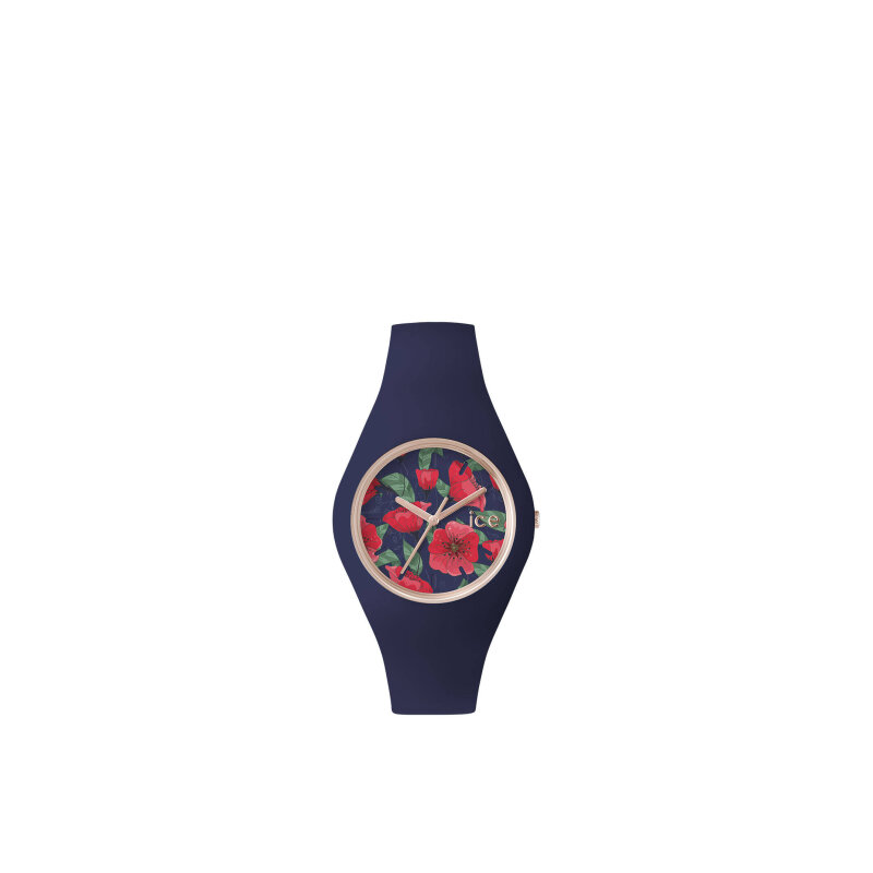 Ice Flower - Seduction watch ICE-WATCH navy blue