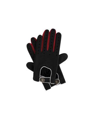 Tommy Hilfiger Leather gloves Biker