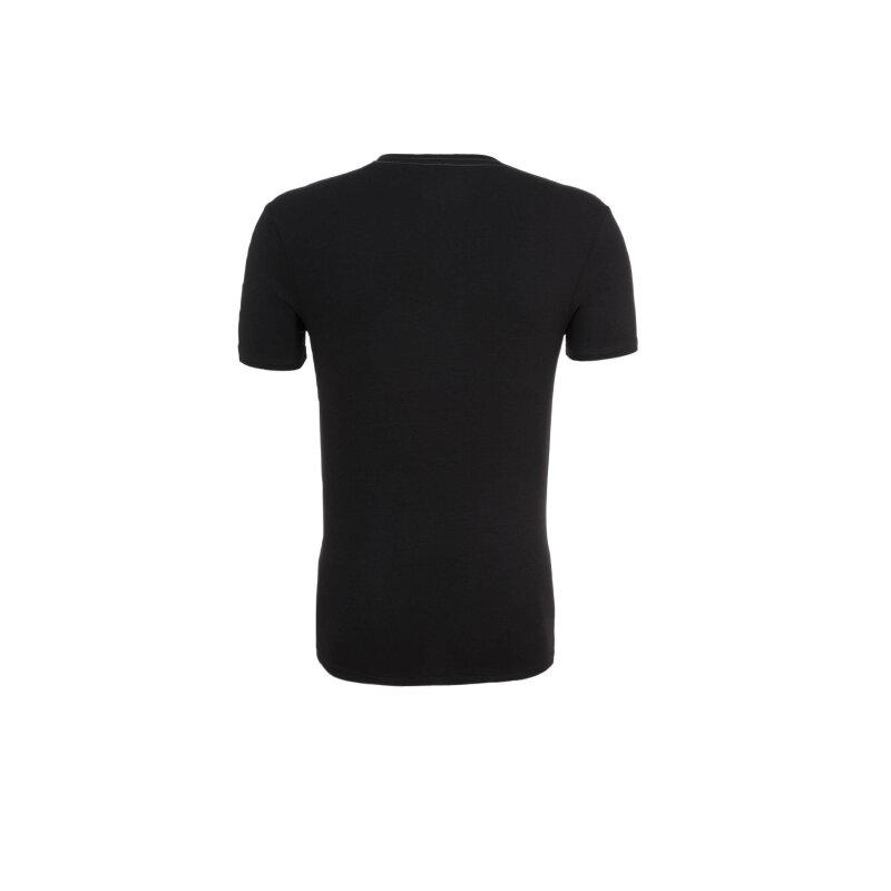 T-shirt Guess Jeans czarny