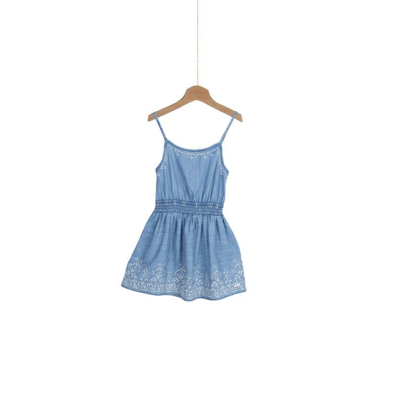 Sukienka Debby Pepe Jeans London błękitny