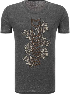 Guess Jeans T-shirt CN SS BURNOUT   Slim Fit