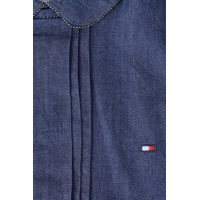 Denim dress Tommy Hilfiger navy blue
