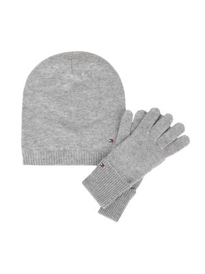 Tommy Hilfiger Beanie + gloves New Odine