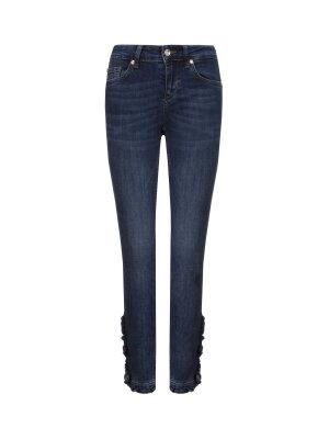 Liu Jo Ruffle Bottom Up jeans