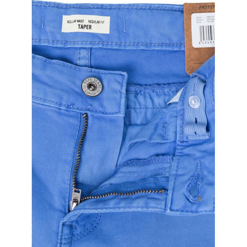 Chinosy Bluebum Pepe Jeans London niebieski