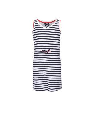 Tommy Hilfiger Sukienka Ame Stripe Rayon