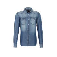 Camicia Shirt Guess Jeans navy blue