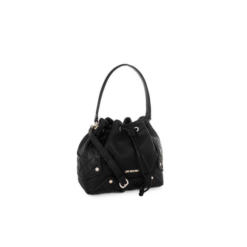 Fashion Quilted bag Love Moschino black