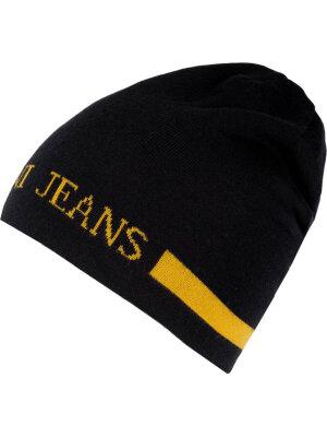 Armani Jeans Dwustronna czapka wełniana