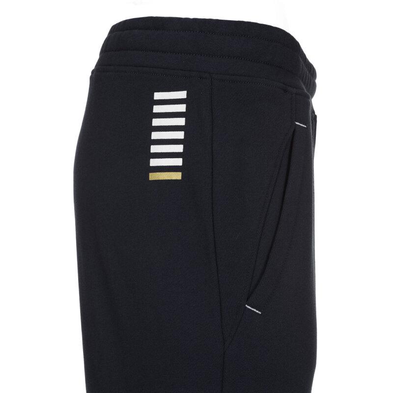 Spodnie dresowe EA7 granatowy