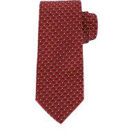 Krawat Armani Collezioni bordowy