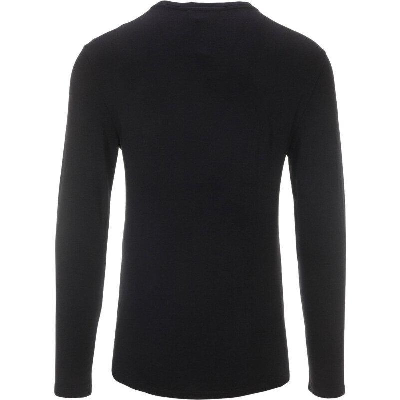 Longsleeve Trussardi Jeans czarny