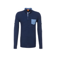 Pataches 1 polo Boss Orange navy blue