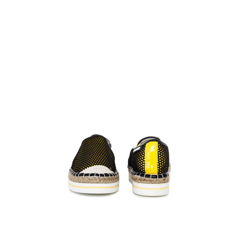 Espadryle Love Moschino żółty