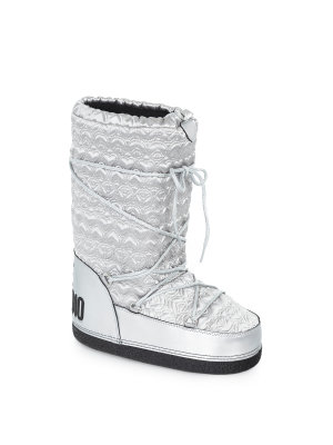 Love Moschino Love&Peace Quilted Winter Boots